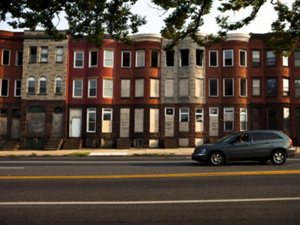 Baltimore townhouses. I did not take this picture