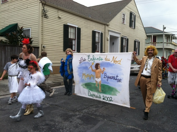 Children's parade, Bywater