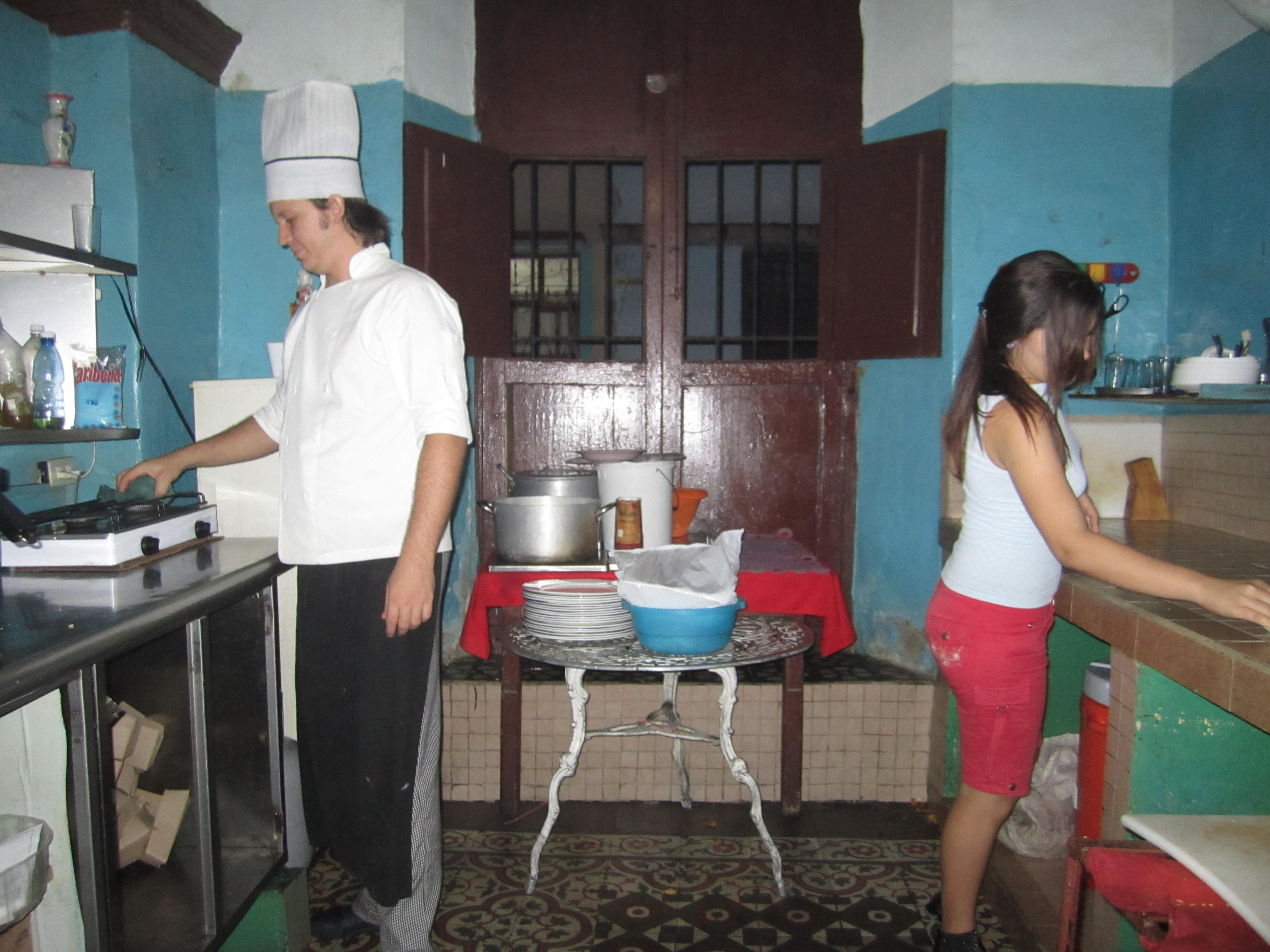 Kitchen, El Alba, Santa Clara