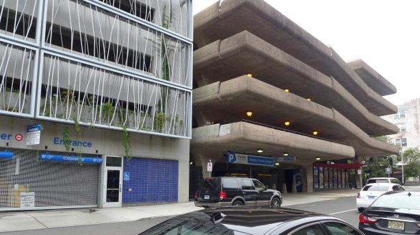 Parking garages, New Haven CT