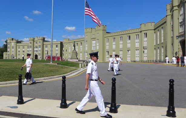 VMI parade ground