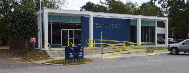 Modernist post office, Johnston SC