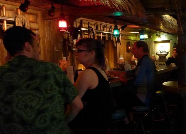 Bar at the Mai Kai