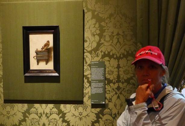 The Goldfinch at Mauritshuis museum