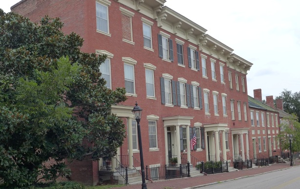 Row houses from 1830's, High Street