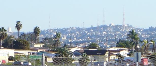 Tijuana in the distance
