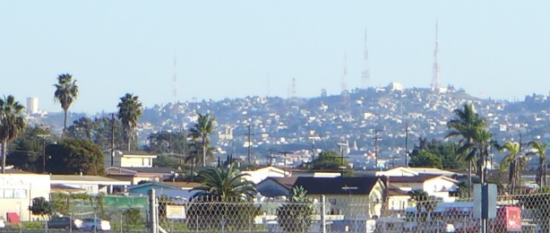 Tijuana in the distance